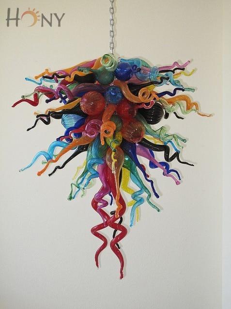 Livraison gratuite 110/220v contemporain haut plafond Commercial Led Art déco lustres