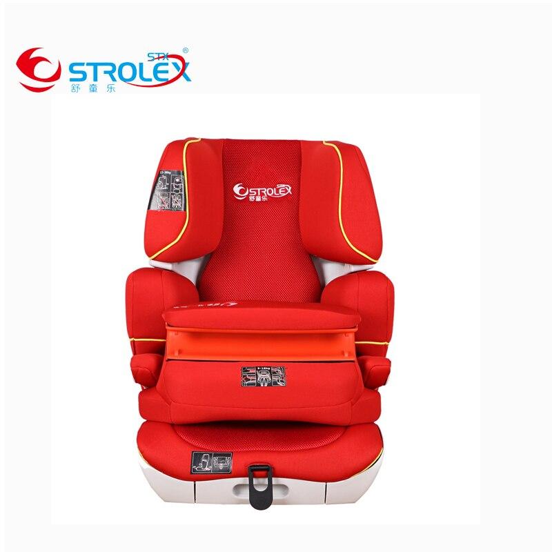 Дети безопасности автокресло стул бустер Isofix защелка жесткий Интерфейс Детские сиденья на взрослый стул спереди Гвардии ремни безопасност