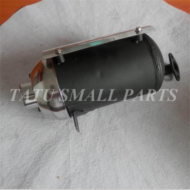 Schalldämpfer Auspuff Werkzeug für Honda Gx110 Gx120 Gx140 Gx160 Gx200 Schwarz
