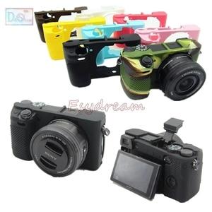 Image 1 - ยางซิลิคอนกรณี Body Protector สำหรับ Sony A6100 A6300 A6400 ILCE 6100 ILCE 6400 ILCE 6300 กล้อง