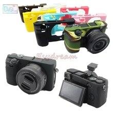 Gummi Silizium Fall Körper Abdeckung Protector für Sony A6100 A6300 A6400 ILCE 6100 ILCE 6400 ILCE 6300 Kamera