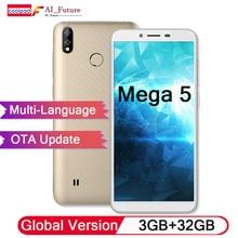 Оригинальный мобильный телефон Coolpad mega 5 с глобальной версией, 3 Гб ОЗУ, 32 Гб ПЗУ, аккумулятор 3000 мАч, 5,7 дюйма, HD, две задние камеры, Android Oreo 8,1