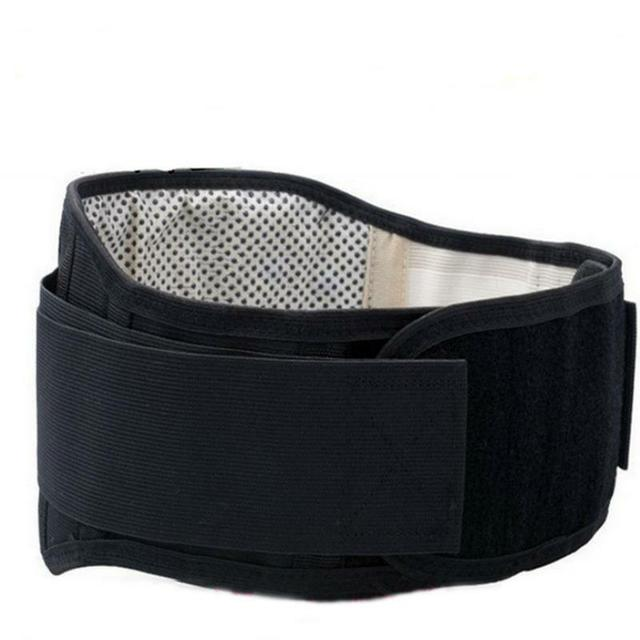 Tourmaline Self-heating Warm Waist Back Support Belt Brace Protection Back Pain Relief Health Care Stress Relaxation