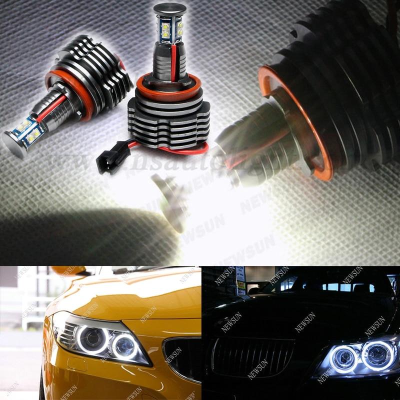 CREE chip high power led marker H8 angel eyes 80W, Canbus Led marker bulbs for BMW E81 E82 E87 E88 E90 E91 E92 E93 E63 E64 X5