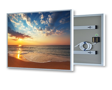 EnjoyWarm 2019 New Product Far Infrared Mirror Heating Panel 720w