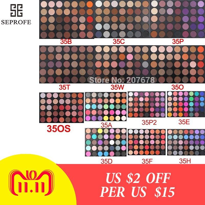 35 Colors eyeshadow pallete Glitter Makeup Matte Eye shadow Long-lasting make up palette maquillage paleta de sombra Eyeshadow цены