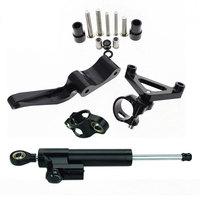 Adjustable Motorcycle Steering Stabilize Damper Bracket Mount Kit For DUCATI Monster 696 796 795 Moto Steering Support