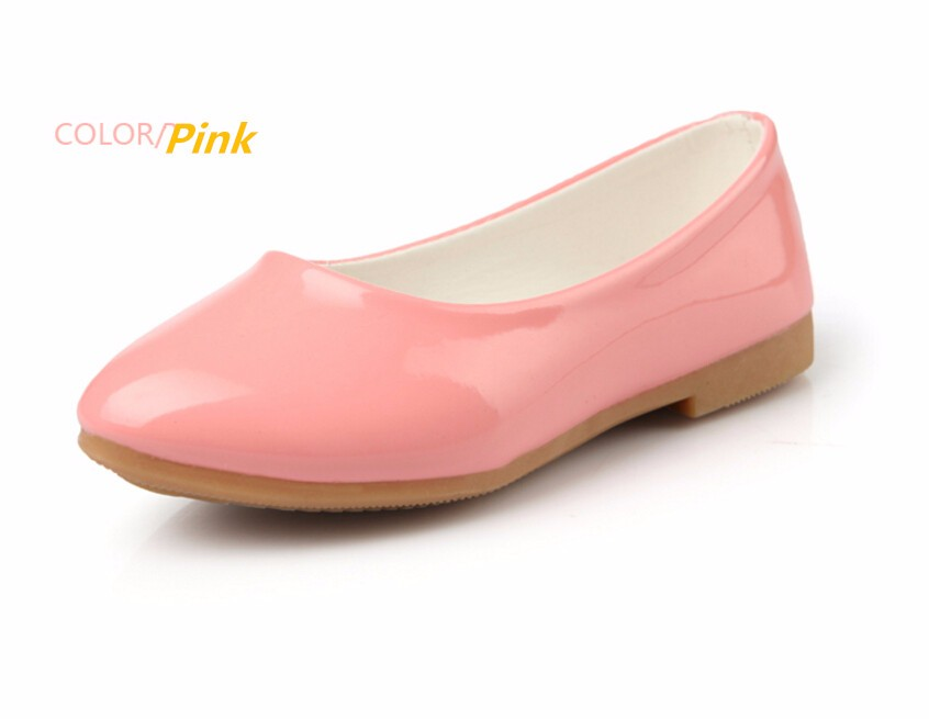 girl leather shoe-35