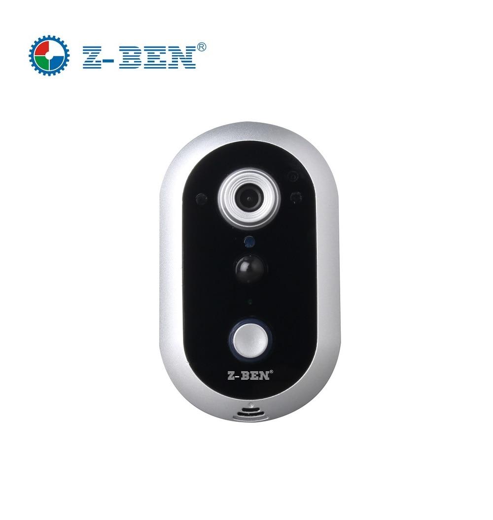 Z-BEN Hotsell 1280X720P HD Wifi Doorbell Camera DB2016+ Indoor Bell+ Video Door Intercom for Smartphone