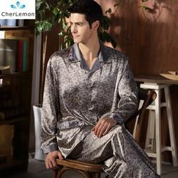 High quality silk men pajamas sleepwear long sleeved silk satin nightwear soft spring autumn pyjamas plus.jpg 250x250