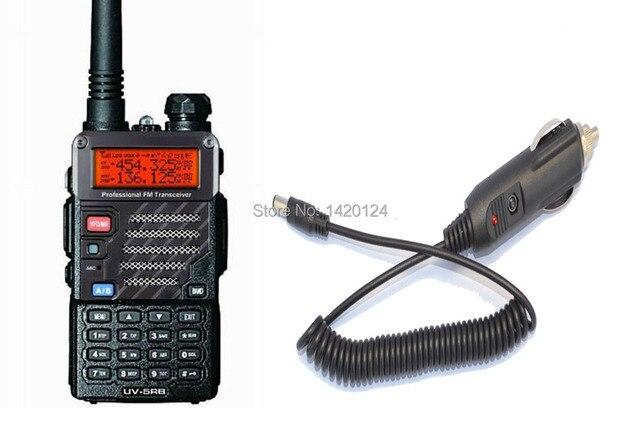 portable radio sets New Black BAOFENG UV-5RB walkie talkie VHF/UHF Dual Band two way Radio + Car Charger Cable+free shipping