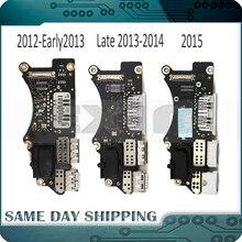 """מקורי מחשב נייד A1398 אני/O USB HDMI SD כרטיס קורא לוח עבור MacBook Pro רשתית 15 """"A1398 Usb לוח 2012 2013 2014 2015 שנה"""