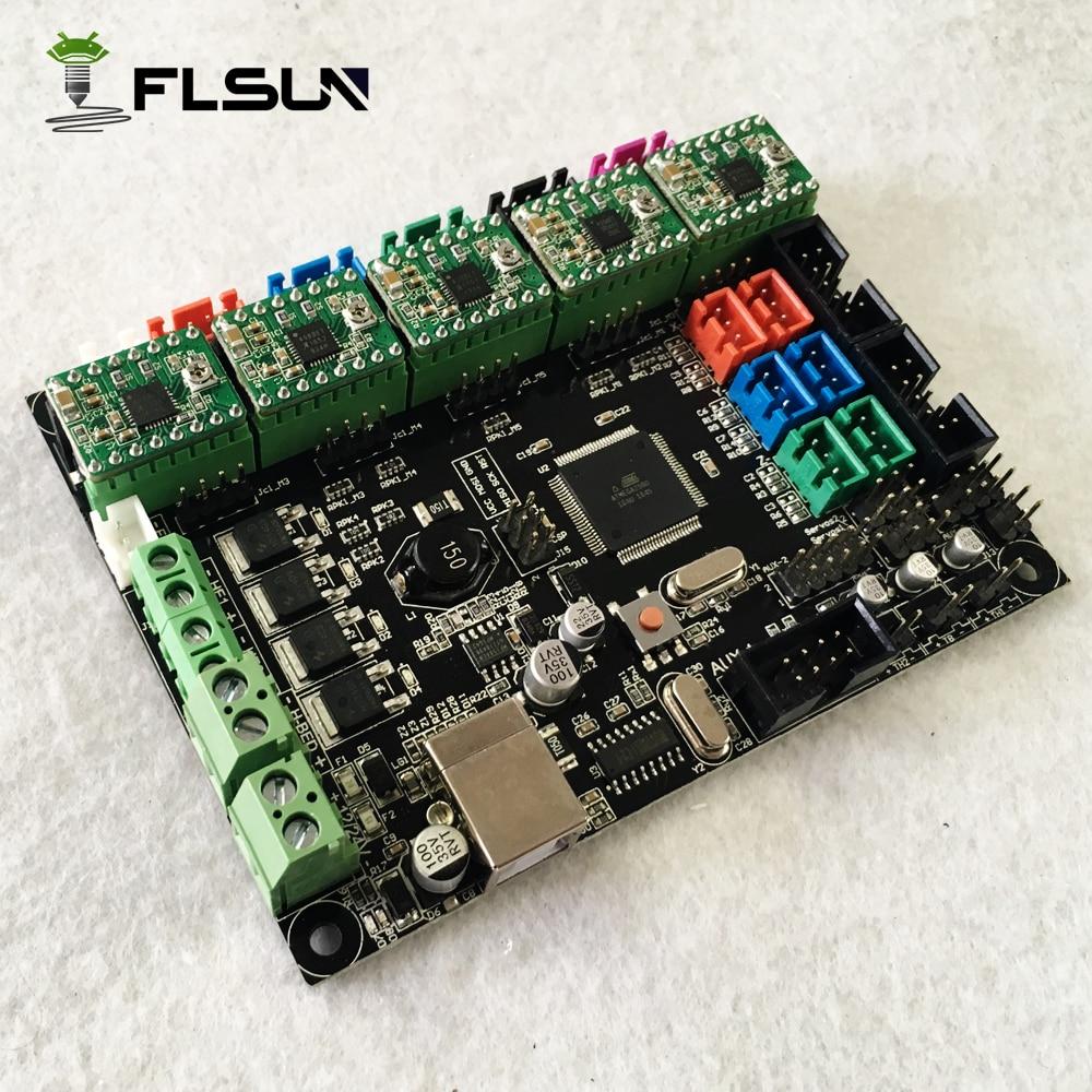Approvisionnement d'usine 3D Imprimante Conseil Ramps1.4 Mega 2560 Avec 5 pcs Moteurs Pilotes - 3