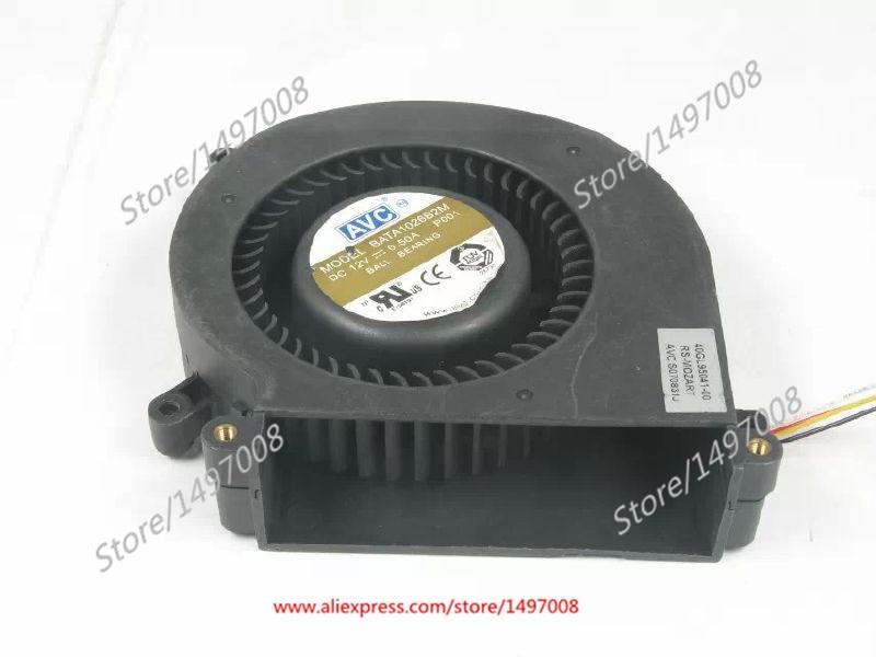 AVC  BATA1026B2M P001  DC 12V 0.50A,    Server Blower fan запонки arcadio rossi 2 b 1026 20 e