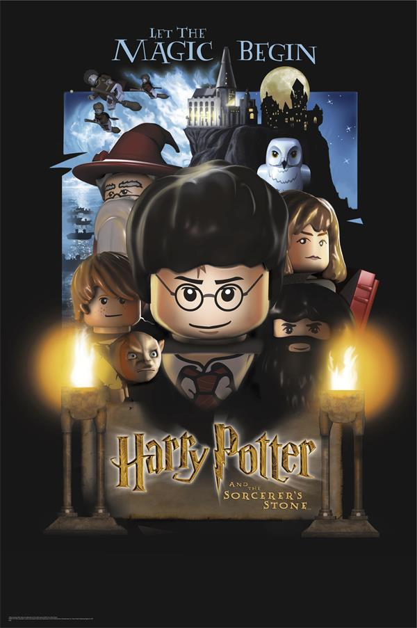 custom canvas art harry potter harry potter poster pared pegatinas el lego lego movie wallpaper mural