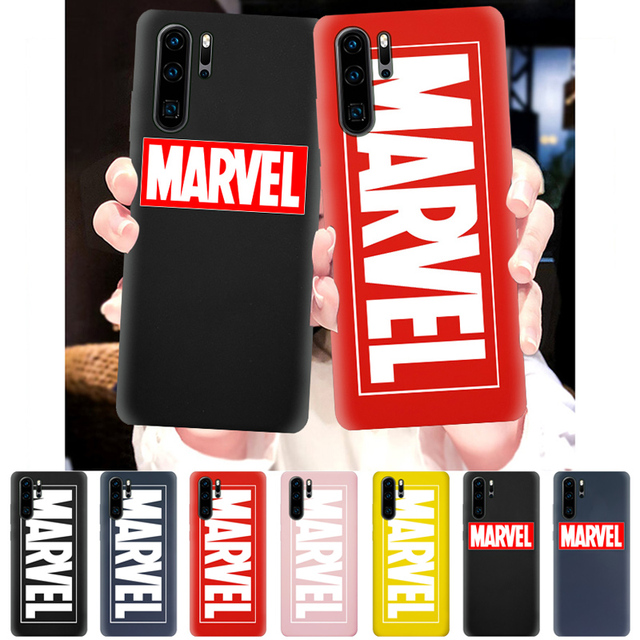 Cool Male Avengers Case for Huawei P30 P20 P10 P9 Pro Lite Plus Silicone Phone Cover Soft TPU Protective Back Smart Cases Coque