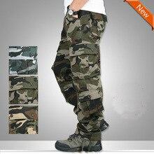 Zogaa New Men Casual Camouflage Pants Quality Joggers Men Full Length Trousers Cotton Elastic Camo Cargo Pants Men Plus Size цена в Москве и Питере