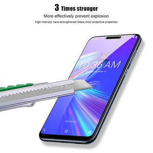 Image 4 - tempered glass For Asus Zenfone Max Pro M2 ZB631KL ZB633KL Cover Protective glass for zenfone Max pro m2 zb631kl Safety film