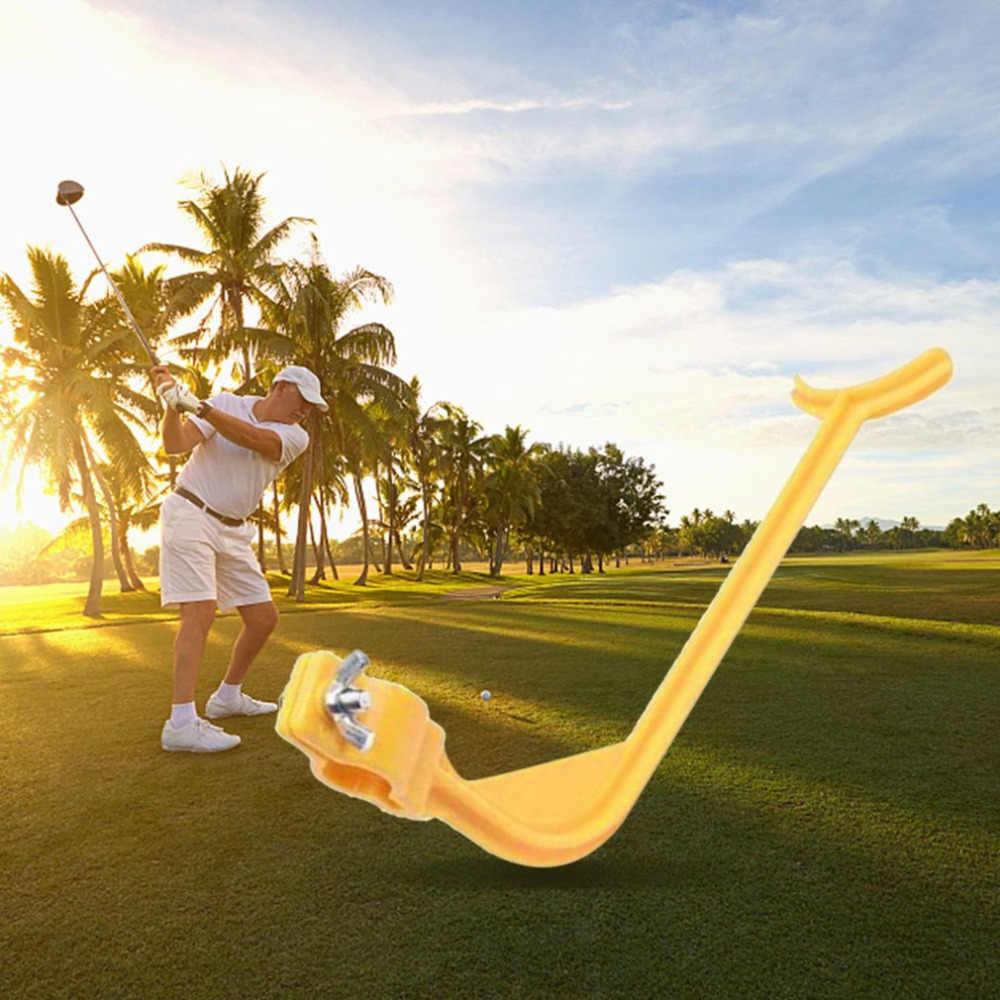 Hewolf Golf Swing Trainer Educatief Practice Guide Beginner Gebaar Alignment Golf Club Juiste Pols Training Aid Gereedschap