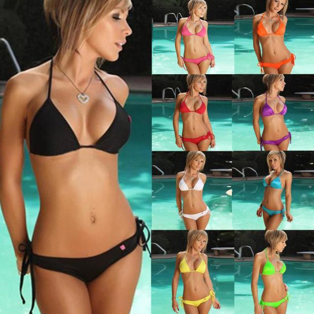 Swimwear women bikini 10 Color Set Push-up