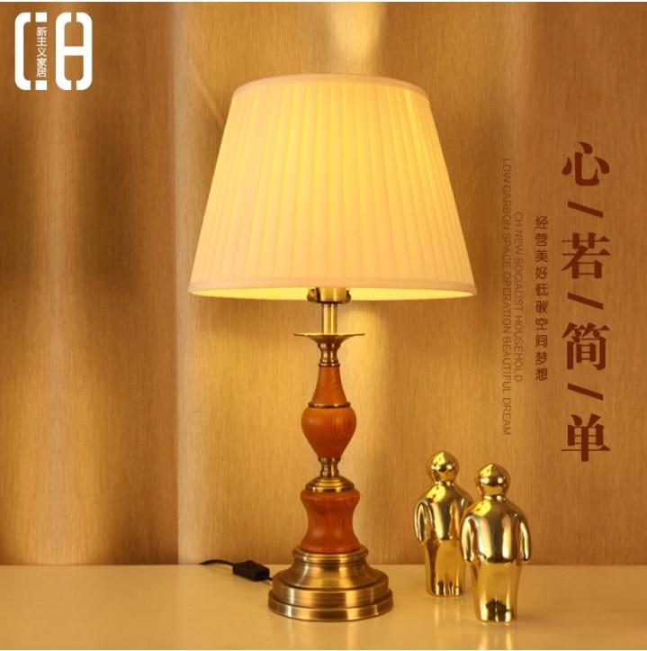 Здесь продается  British Design Classical Table Lamp / Wood and Metal   Свет и освещение
