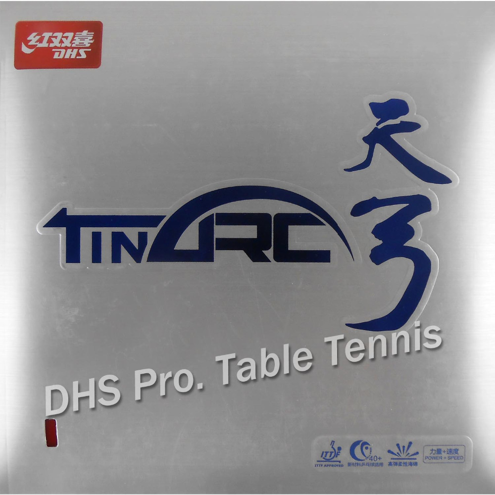 DHS TinArc  Pips-In Table Tennis PingPong Rubber With Sponge For PingPong Bat