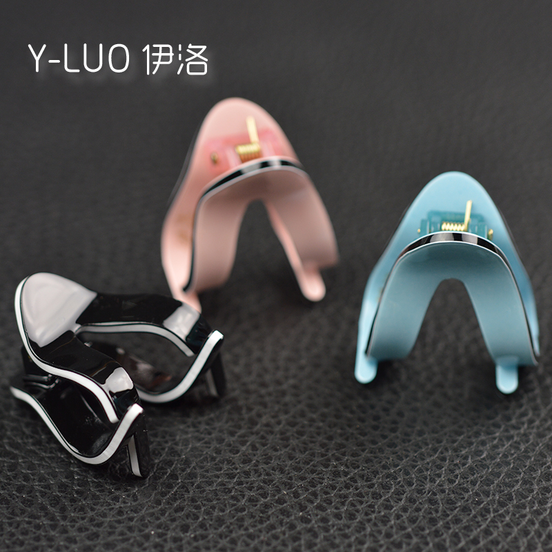 Cute High Quality  Acrylic Hair Claw Clip Clamp Mini 3.4cm Long 3 pcs single color/bag FREE SHIPPING acessorio para cabelo halloween party zombie skull skeleton hand bone claw hairpin punk hair clip for women girl hair accessories headwear 1 pcs