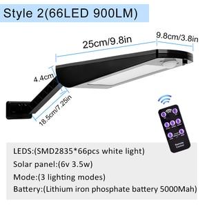 Image 4 - High Quality Power Outdoor IP65 1000 Lumen 81 Leds integrated solar street light Motion Sensor Solar Lamps