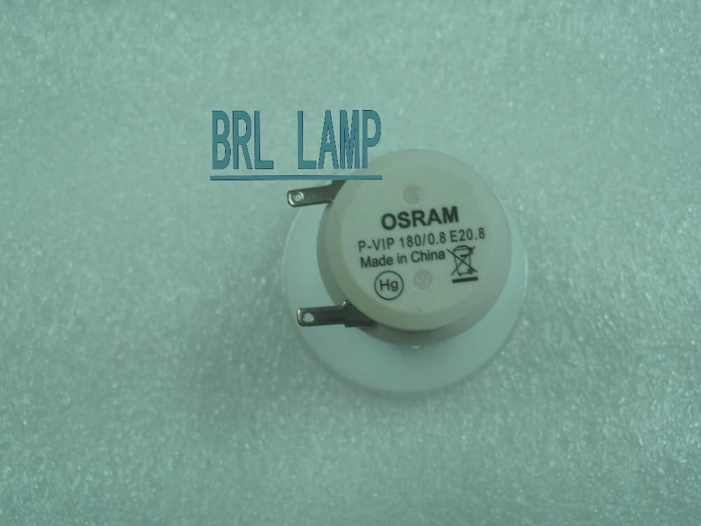 100% NEW ORIGINAL bare projector lamp 5J.J0W05.001 /P-VIP180W 0.8 E20.8 for Benq W1000//W1000+/W1050 Projector original projector lamp cs 5jj1b 1b1 for benq mp610 mp610 b5a