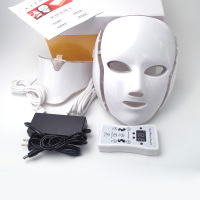 LED Facial Mask 7 Colors LED Photon Facial Mask Wrinkle Acne Removal Face Skin Rejuvenation Facial