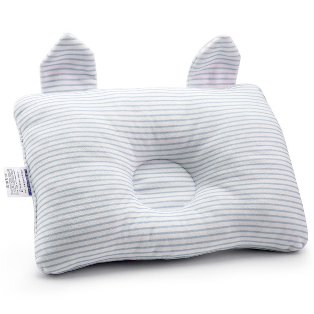 High Quality Cute Rabbit Baby Pillows Newborns Funny Rabbit Ear Baby Decorative PillowsBaby Soft Shaping Pillows 3 Colors
