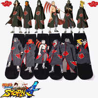 Naruto Akatsuki Cosplay Requisiten Socke Uchiha Itachi Orochimaru Anime Frühling Herbst Socken Frauen Männer Halloween-Party Geschenke