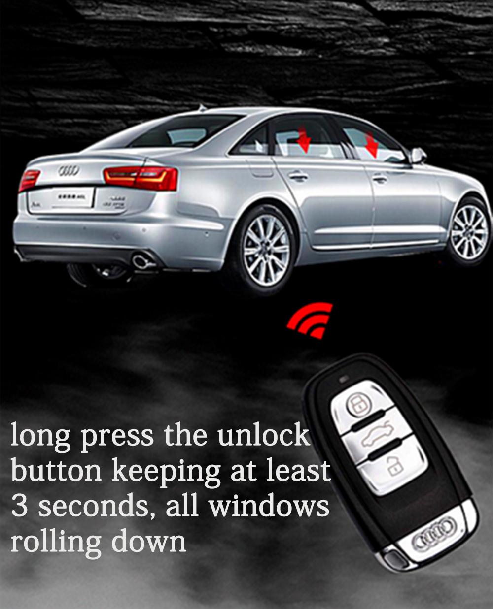 PLUSOBD Remote Starter For Audi Q5 SQ5 With Engine Start
