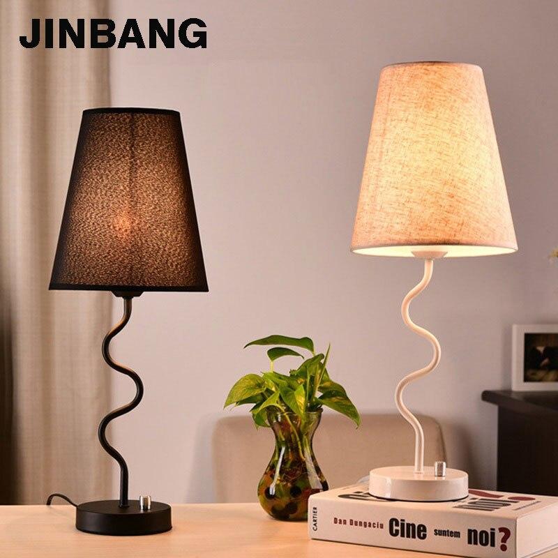 Светодиодный Настольные лампы для Спальня творчества защита глаз прикроватной тумбочке лампа индивидуальность прикроватный свет лампе та...