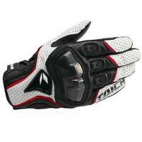 De cuero transpirable moto rcycle guantes carreras de moto Cruz guantes RST390 391 guantes moto rekawice moto cyklowe