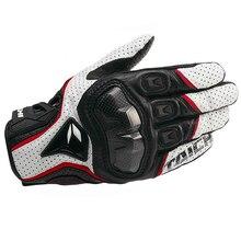 Guantes de cuero transpirable para motociclismo para hombre, guantes para carreras, RST390, 391