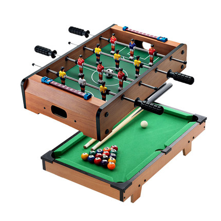 Beautiful Two Play Toy Table Combo Sets Mini Air Hockey Tabl.