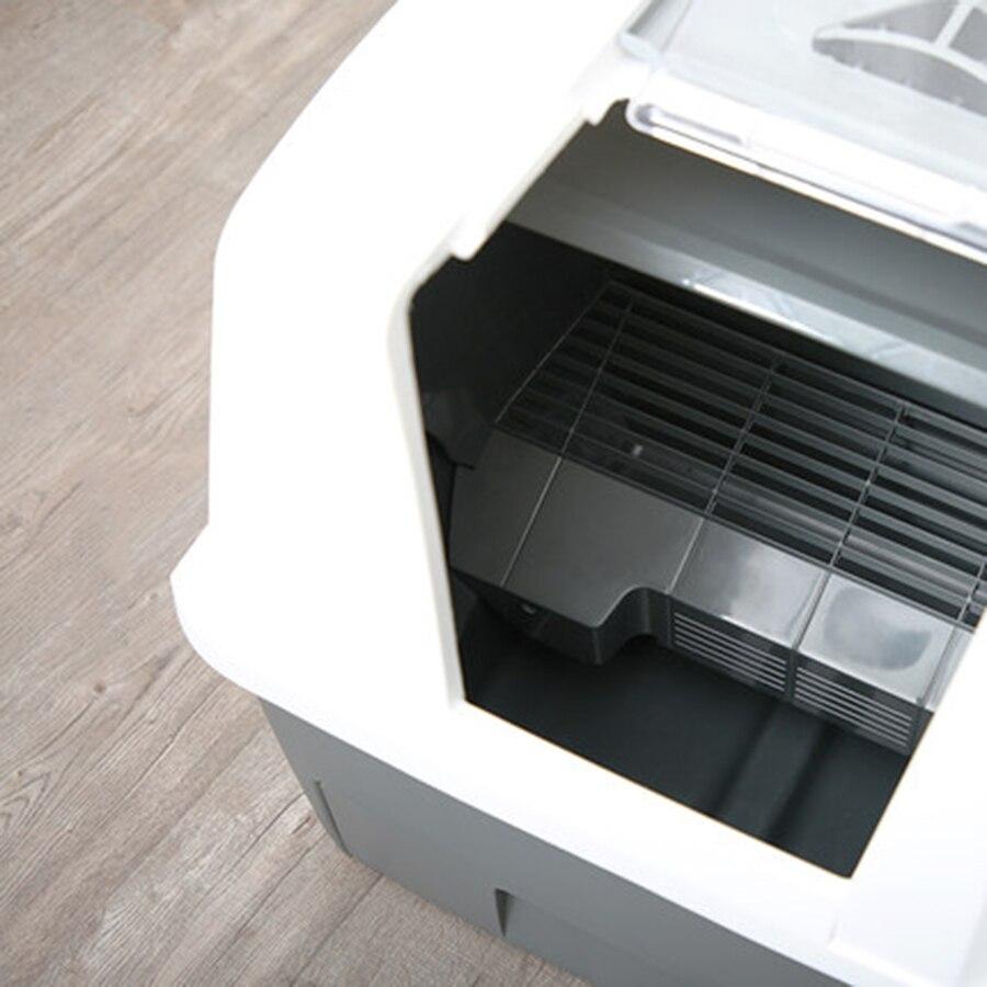 Grande litière Semi fermée produits de litière pour chat Inodoro automatique pour animaux de compagnie Arenero Gato Automatico boîte de tamisage luxueuse 30MC54 - 5