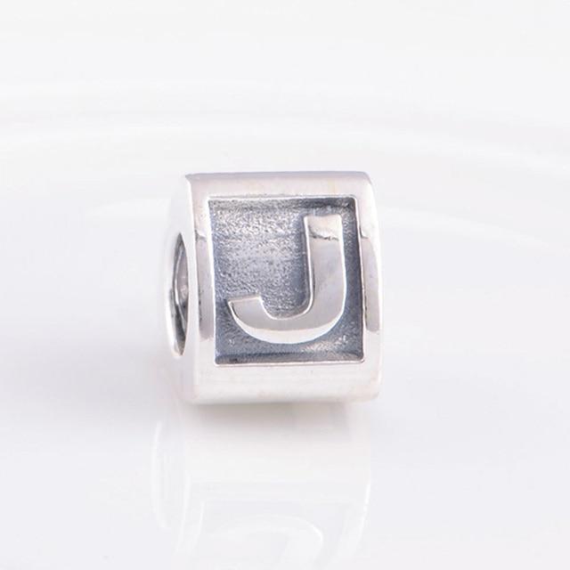 pandora alphabet j charm