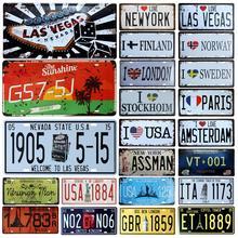 [SQ-DGLZ] nuevo amor país placa tienda decoración de paredes para Bar estaño signo de Metal Vintage signo Casa Decor pintura placas cartel