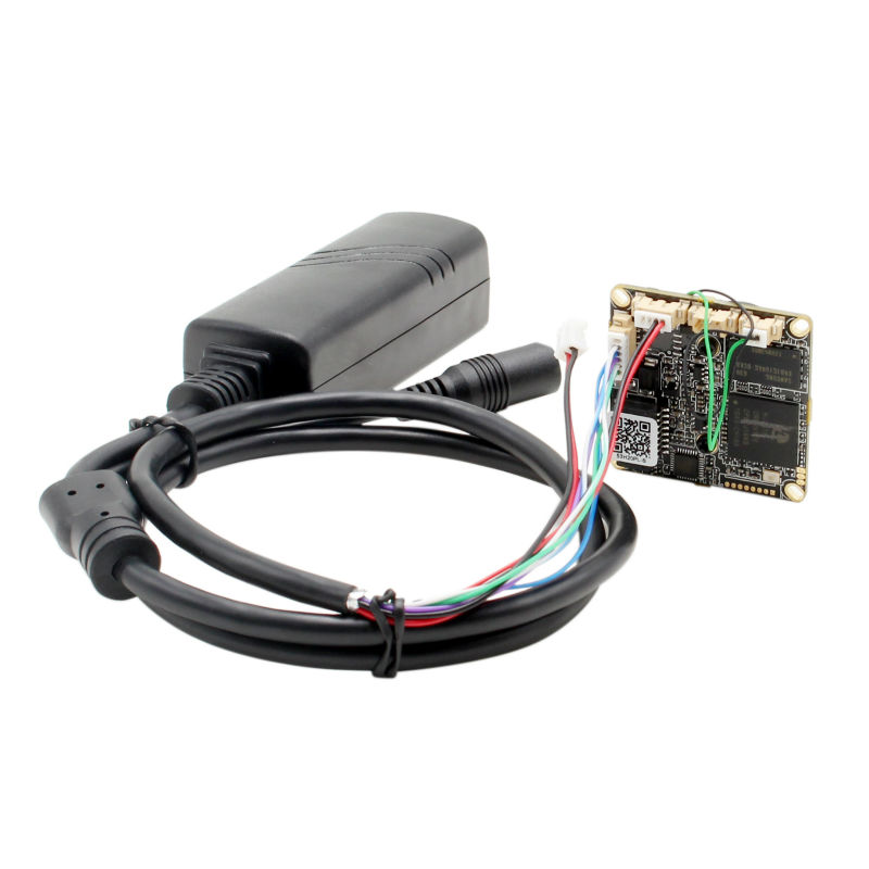 2Megapixel 1080P full hd IPC camera board Sony IMX222 wide view IP camera module POE with 180 degree fisheye lens