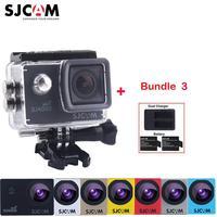 100 Original SJCAM 2 Screen SJ4000 WIFI 1080P 30M Waterproof Sports Action Camera Car Mini DVR