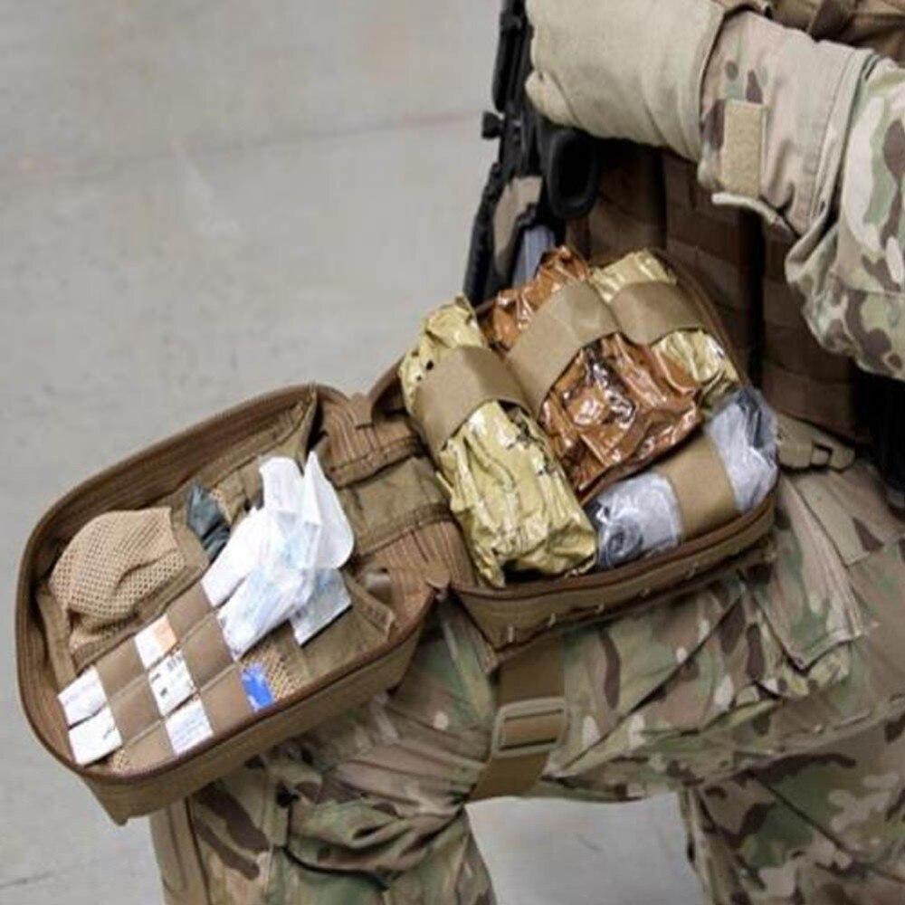 Prix pour New Sports de Plein Air Poche Pack Tactique Militaire D'utilité EDC Outil Sac Molle Chasse Taille Sac 1000D Médicale First Aid Pouch