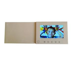 Image 4 - 7 אינץ מסך 8 GB חוברת אוניברסלי וידאו ברכה כרטיסי אופנה עיצוב וידאו פרסום כרטיסי צפייה חוברת (hyh 3070)
