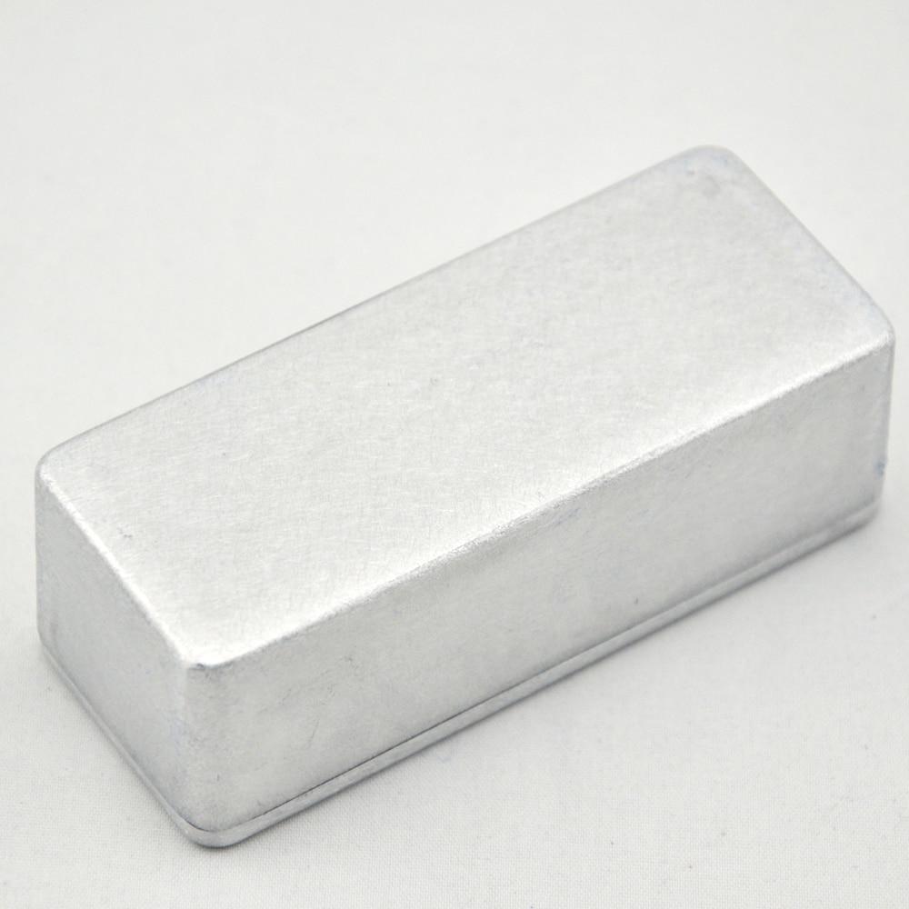 5 X Nieuwe 1590A Aluminium Metalen Stomp Box Case Behuizing Gitaar - Muziekinstrumenten - Foto 5