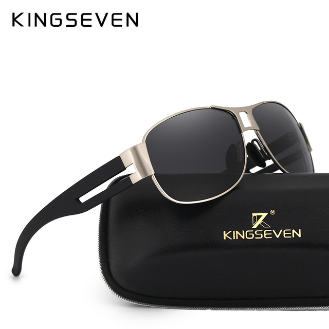 High Quality Alloy Polarized Sunglasses Men Vintage Male Sport Sun glasses Driving Google Eyewear Come with 6 Accessories K7806