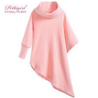 Pettigirl Fashion Baby Girls Pink Tops Knit Shirts Thin Sweater Autmn Hot Sale Kids Clothing  G-DMGT906-811