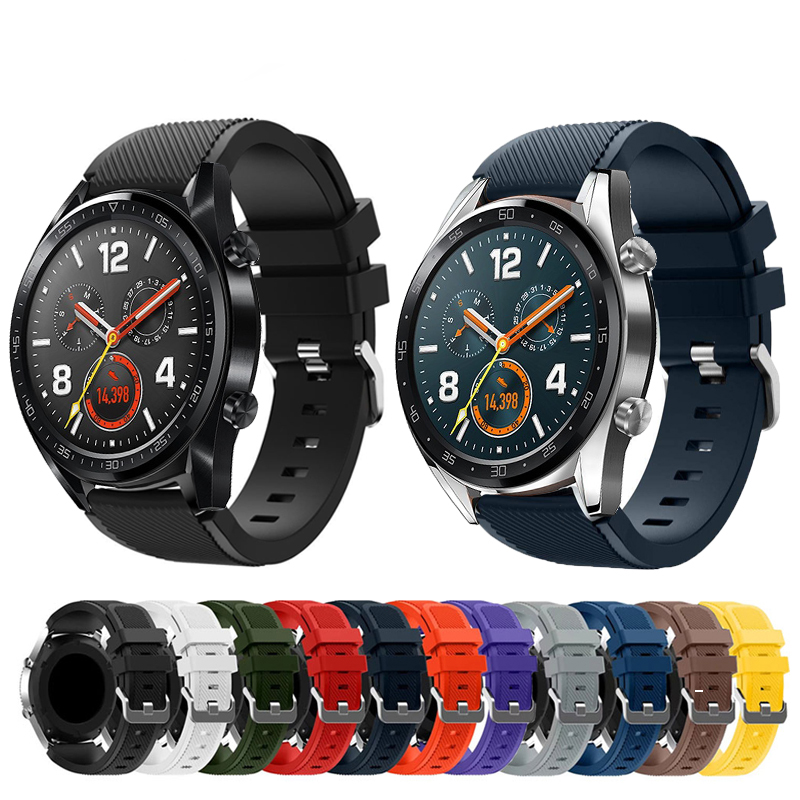 Rubber-Wrist-Strap Bracelet-Band Honor Watch Magic-Replacement Silicone for Huawei GT