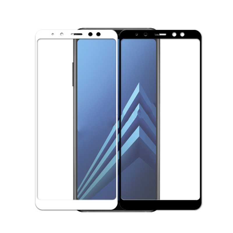 tempered <font><b>glass</b></font> on for <font><b>samsung</b></font> galaxy <font><b>a</b></font> 6 <font><b>8</b></font> plus <font><b>2018</b></font> screen protector for <font><b>samsung</b></font> a6 a8 a6plus a8plus a7 a9 2019 protective film image