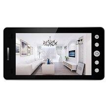 5 inç ekran kablosuz kapı zili Ip kamera 5000Mah 160 derece Peephole App kontrolü ile gece görüş Pir hareket sensörü